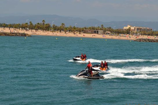 initiation à jet ski saint-raphael
